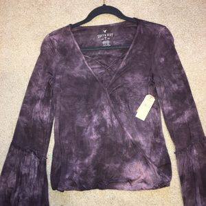American Eagle Soft & Sexy Flare Shirt